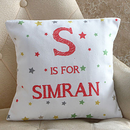 Starry Personalised Cushion