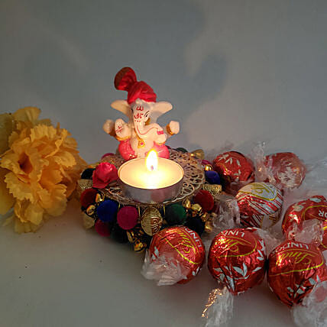 Sweet And Spiritual Diwali Gift Combo
