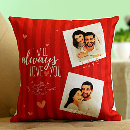 personalised cushion for karwa chauth online