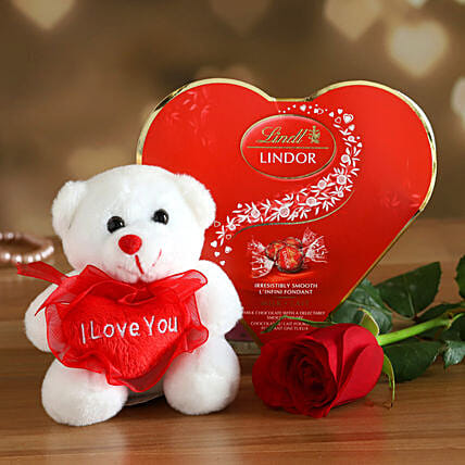 Lindt Chocolates With Love Teddy