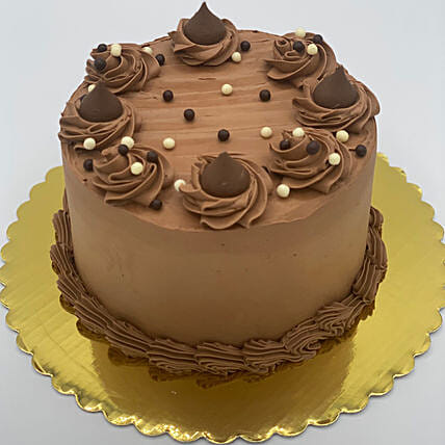 Tempting Chocolate Eggless Cake