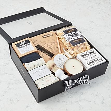 Fathers Day All About Him Hamper:Gifts Baskets to Canada
