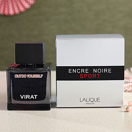 Personalised Lalique Encre Noire Sport EDT 100 ML:Personalised Gifts Canada