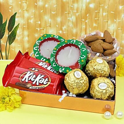 Diwali Special Almonds And Chocolates Combo