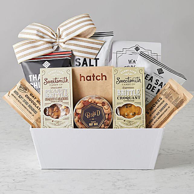 Vegan Gourmet Food Basket