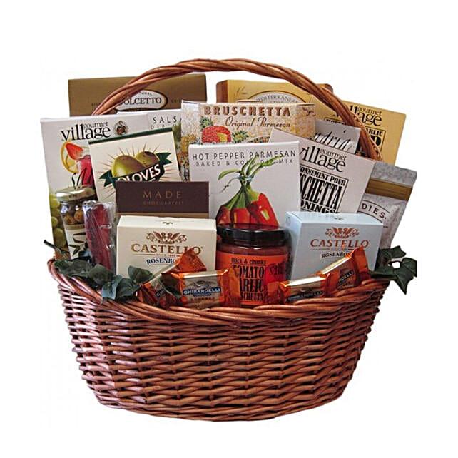 Vineyard Inspired Gift Basket