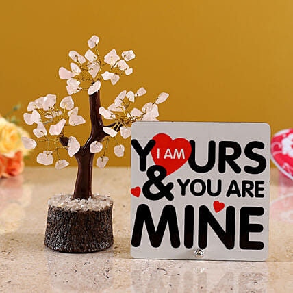 Youre Mine Table Top With Wish Tree