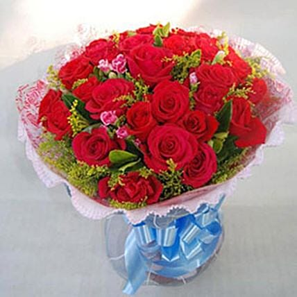 Missing You Red Rose Bouquet