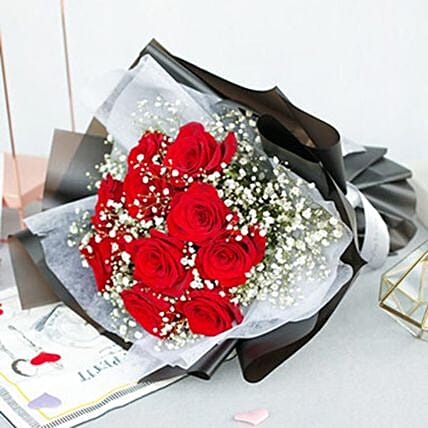 The Greatest Love Red Rose Bouquet