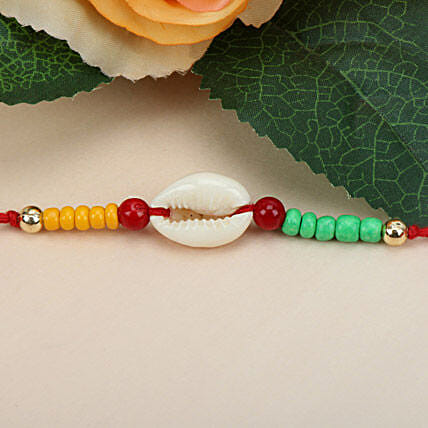 Sea Shell Charm Rakhi DEN
