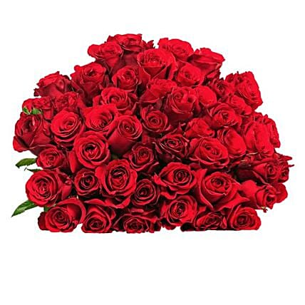 50 Luxurious Red Roses:Send Flowers to Germany
