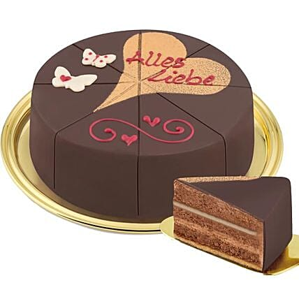 Dessert Cake Alles Liebe:Valentine's Day Gifts to Germany