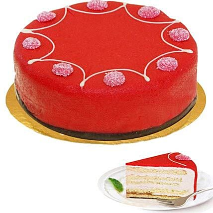 Dessert Raspberry Cake:Women's Day Gift Delivery in Germany