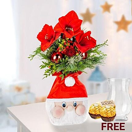 Fabulous Christmas Floral And Rocher Gift