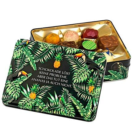 Gift Box Chocolate Solves No Problems