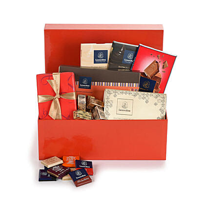 Leonidas Chocolate Gift Hamper:Gift Baskets to Germany