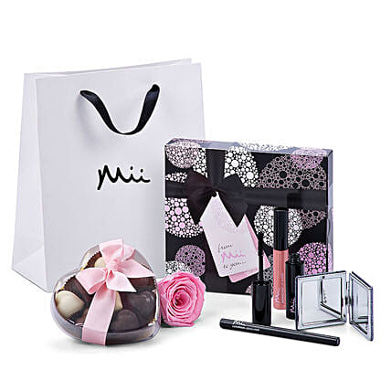 Mii Luxurious Make Up Set with Godiva And Rose