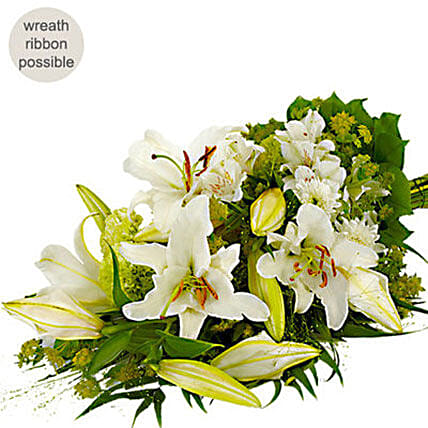 Mixed White Flower Bouquet