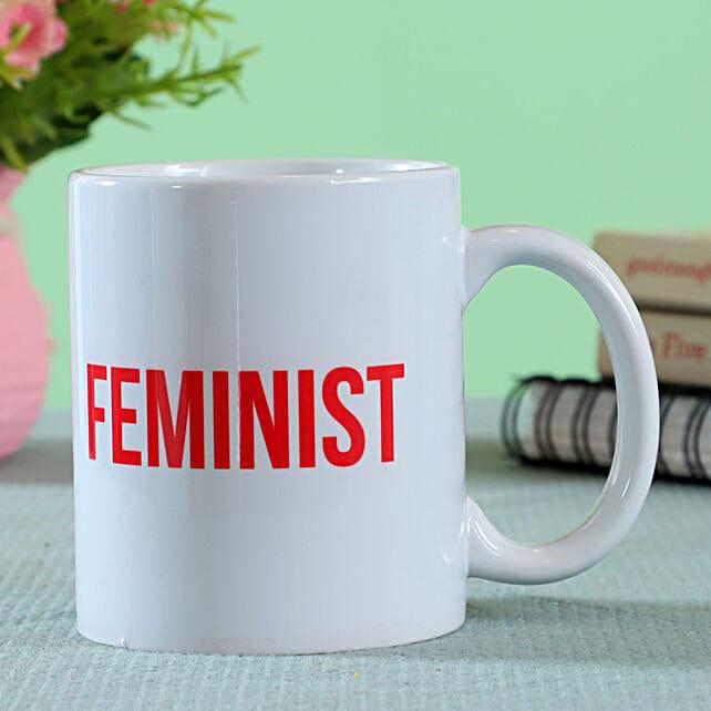 feminist printed mug online:All Gifts