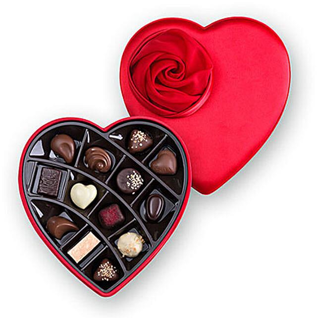 Ruby Red Chocolate Box
