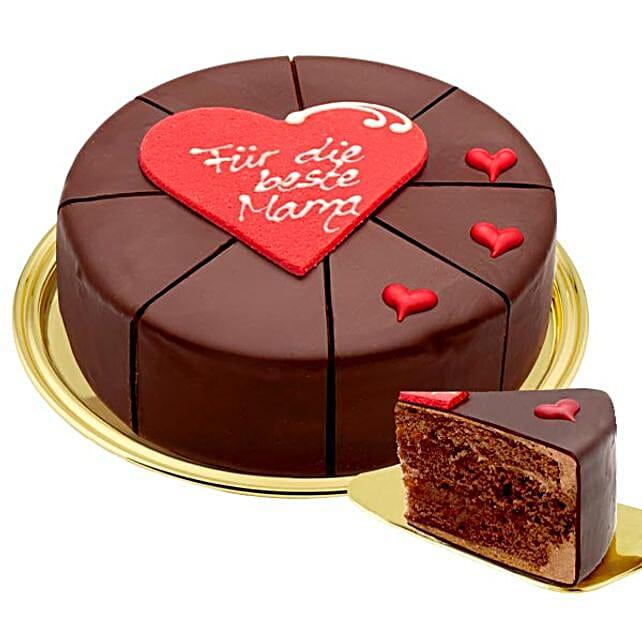 Sacher Cake Fuer Die Beste Mama