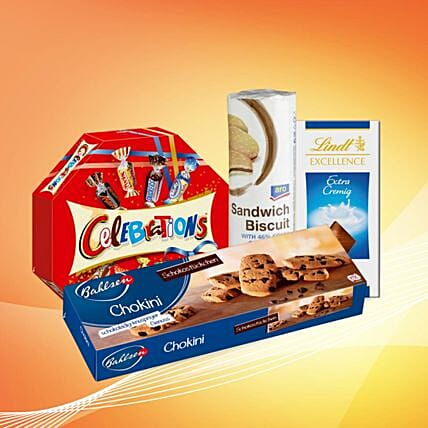 Chocolate And Cookies Combo:Gift Baskets to Germany