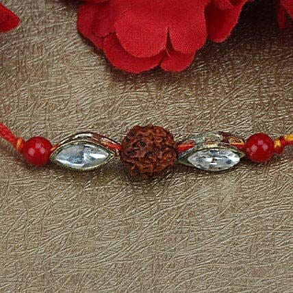 Love For Rudraksha Rakhi GUA