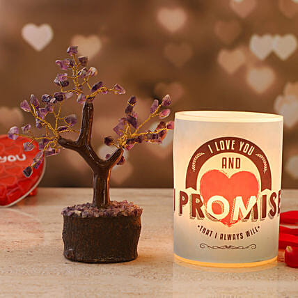 Promise Day Hollow Candle