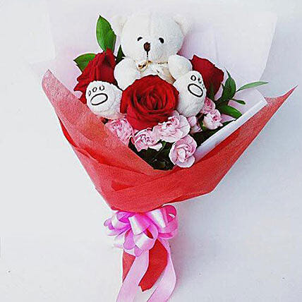 Beary Love:Mothers Day Flowers in Indonesia