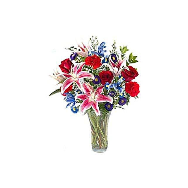 Birthday Bonanza:Lilies to Indonesia