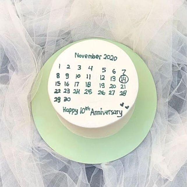 Birthday Calendar Yummy Blackforest Cake