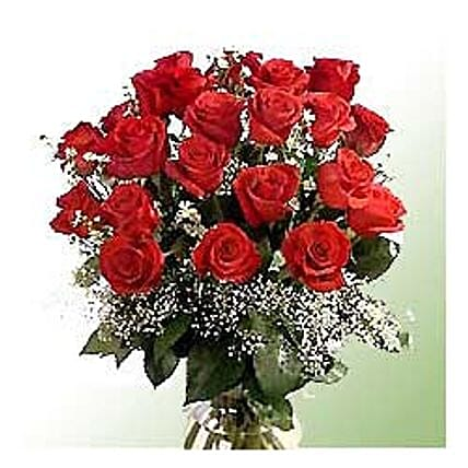 Bunch of 24 roses-INDO:Send Flowers to Indonesia