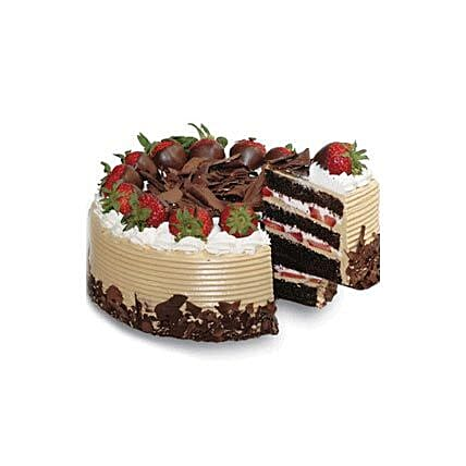 Choco & Strawberry Gateaux