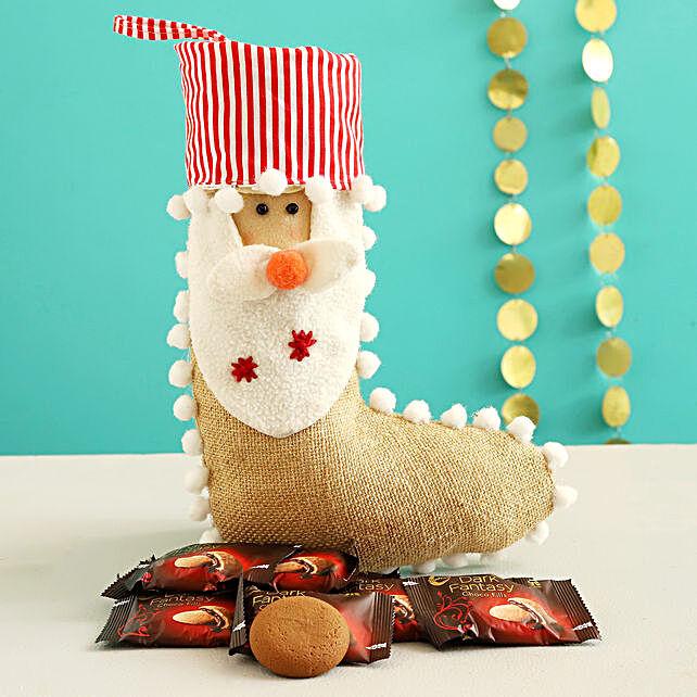 Dark Fantasy Choco Fills In Cute Santa Stocking