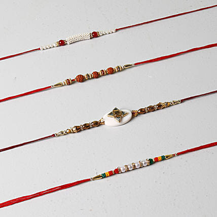 Designer Rakhi Collection Of 4