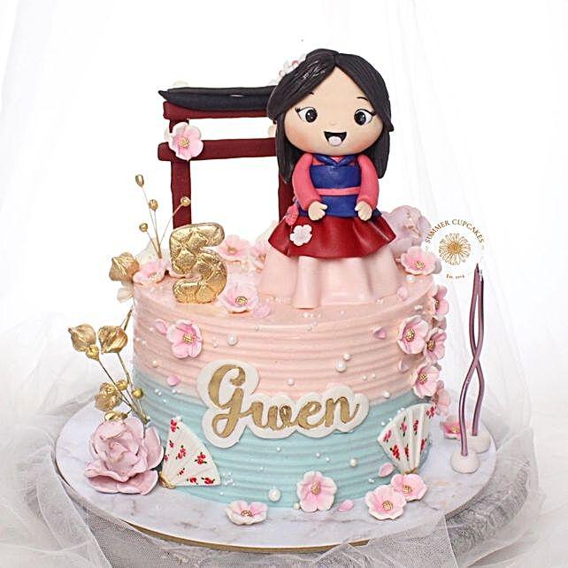 Happy Go Lucky Girl Blackforest Cake