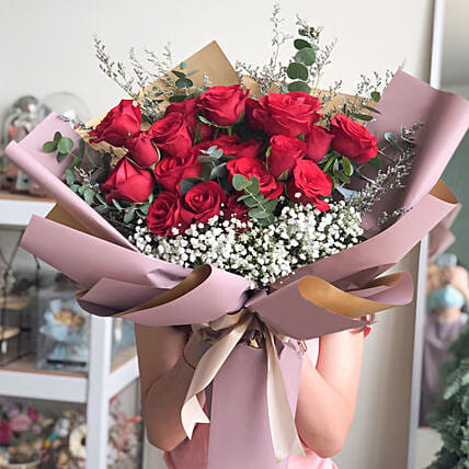 Love Inspired Merry Bouquet:Deliver Flowers in Indonesia