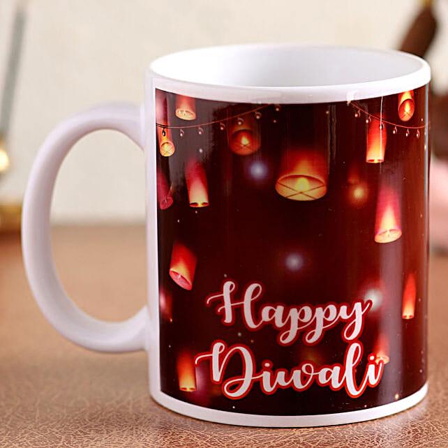 online personalised mug for deepavali
