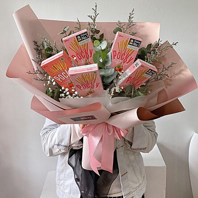 Sweet Love Pocky Bouquet