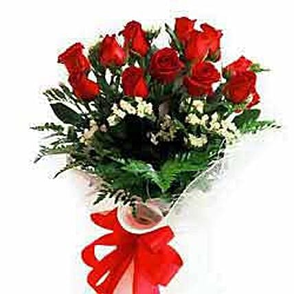12 rose bouquet-JAP:Send Gifts to Japan