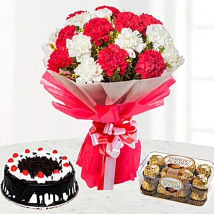 Bright And Romantic Gift Combo