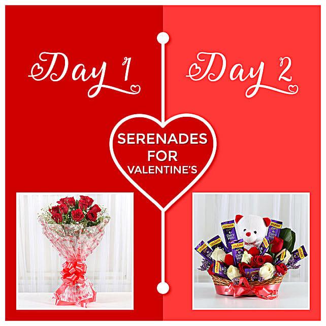 2 Days Valentine's Surprise:Serenades