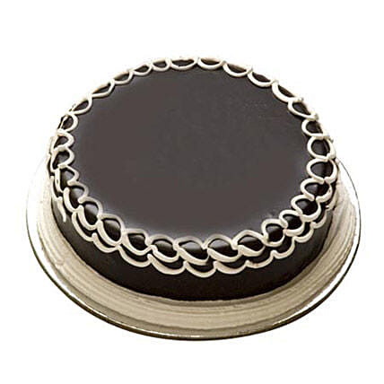 2kg Chocolate Cake Eggless by FNP