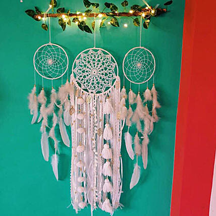 3 rings cluster for house:Dream Catchers