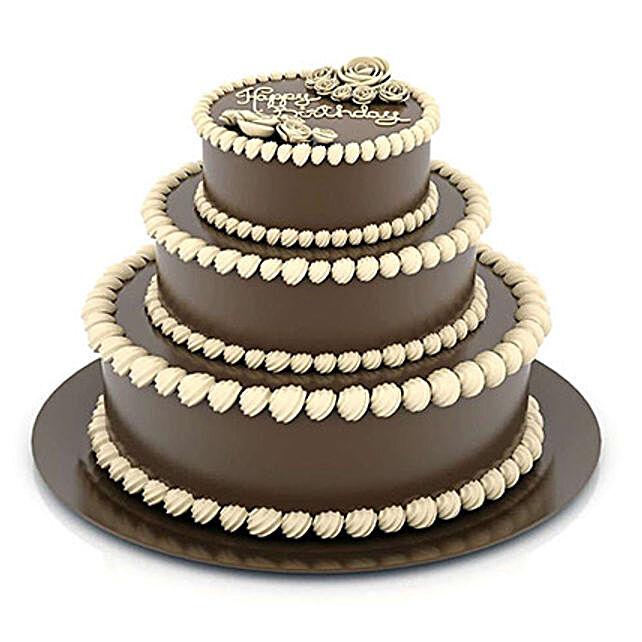 3 tier designer truffle cake 5kg
