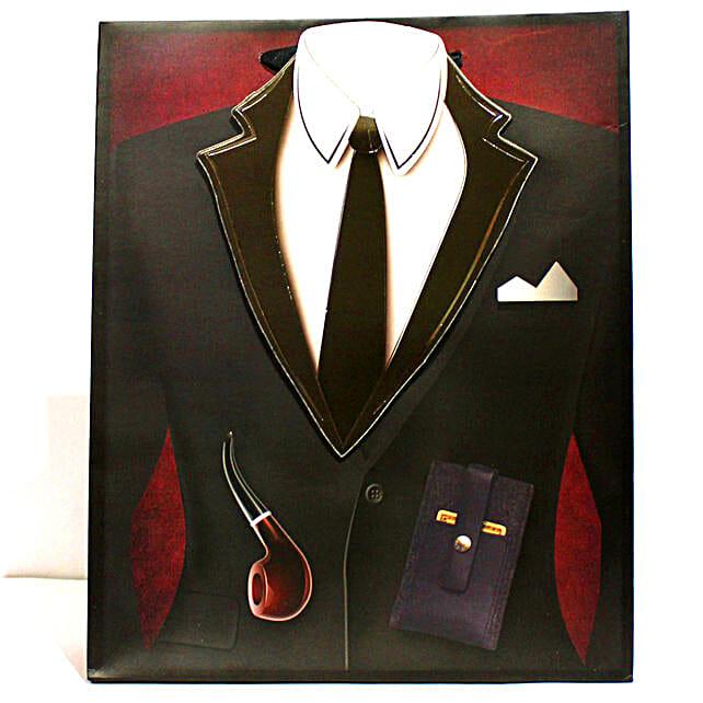 3D Designer Gift Bags Gentlemen