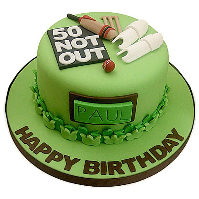 50th Birthday Cake 3kg Eggless