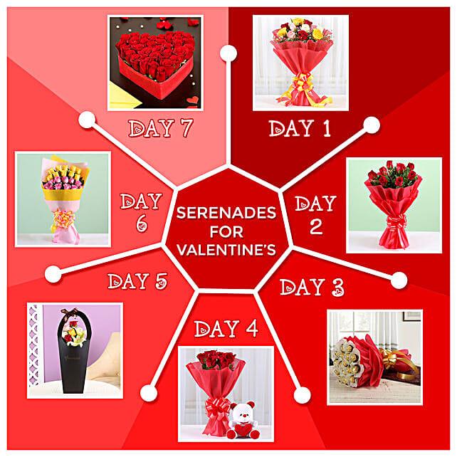 7 Days Of Floral Surprises:Serenades