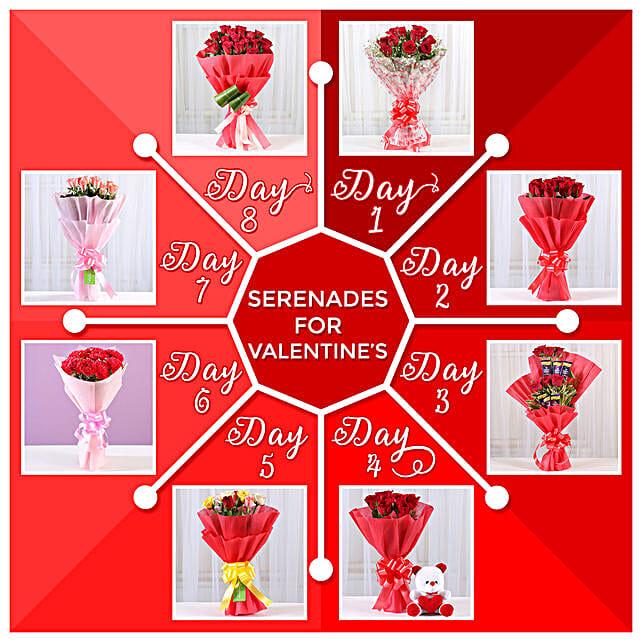 8 Days Valentine's Gift Series