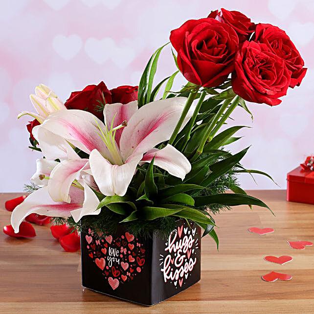 online roses for valentine day